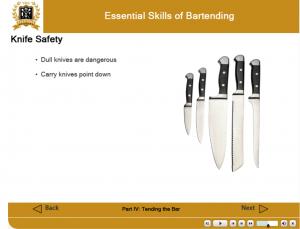 knife safety ihg