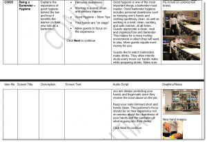 storyboard sample 4 for new site