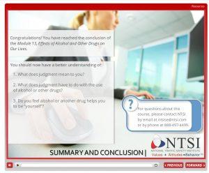 summary slide mod 13